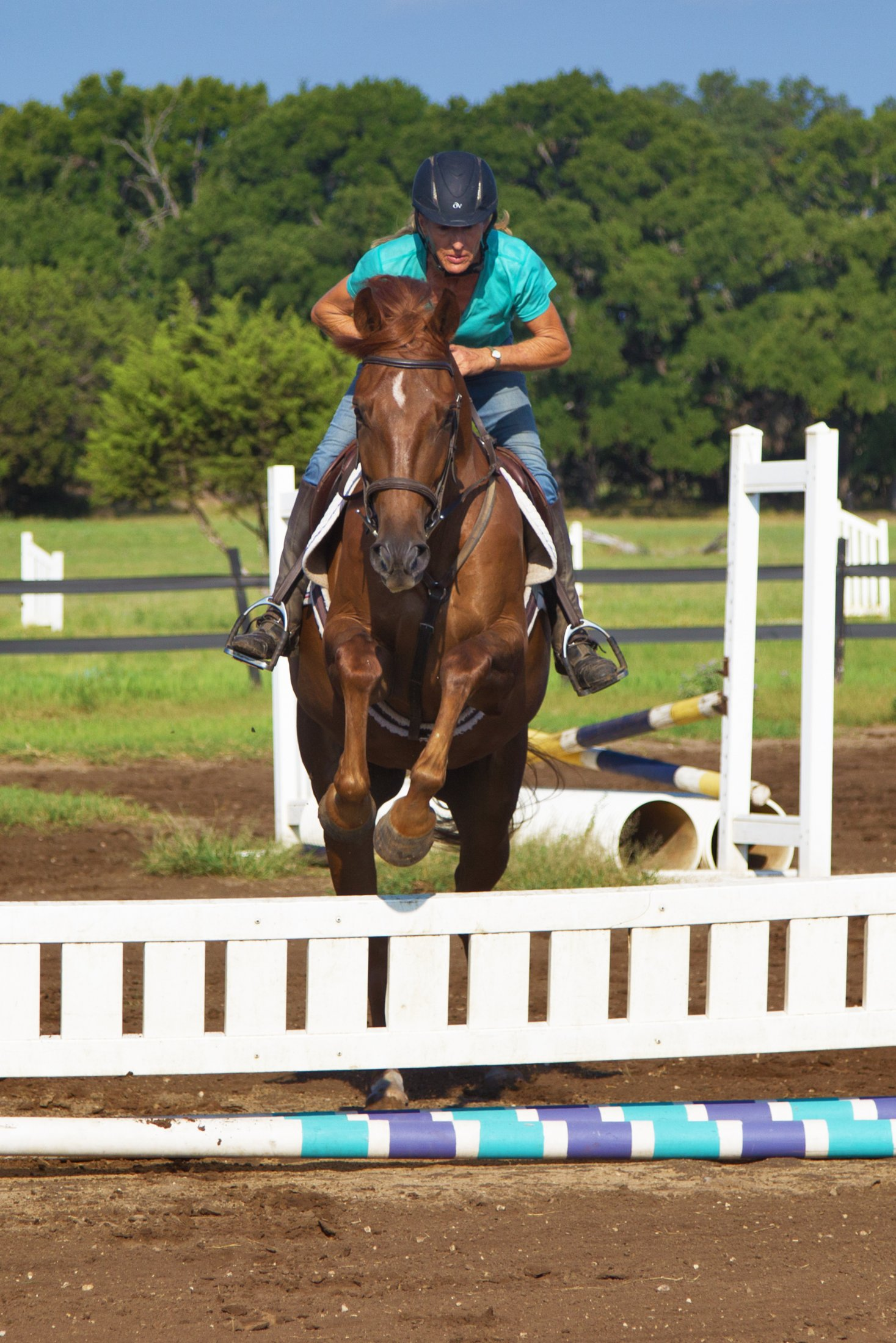 Sligo and Shane at Russell Equestrian Center