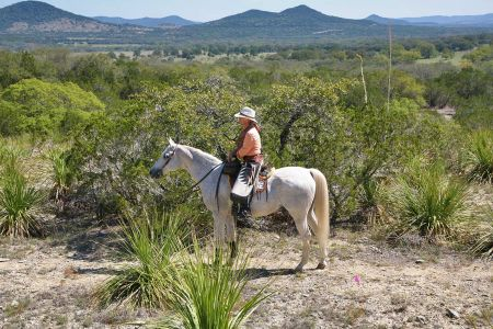 First trail ride we hosted in 2011